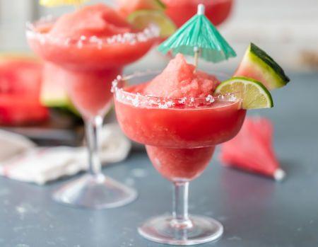 Frozen Watermelon Margarita