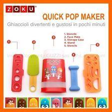 E se anche i ghiaccioli si vestissero per Carnevale? Quick Pop Maker di Zoku.
