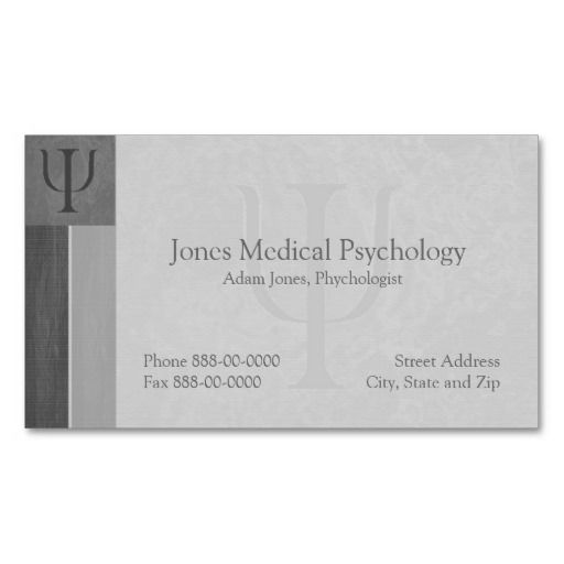 271 best images about psychology business cards on for Psychology business cards