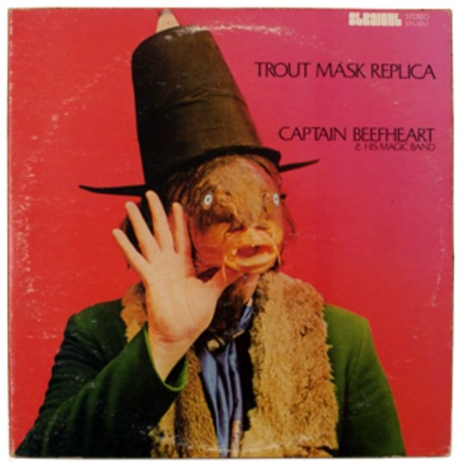 60. Captain Beefheart and His Magic Band, 'Trout Mask Replica'  -