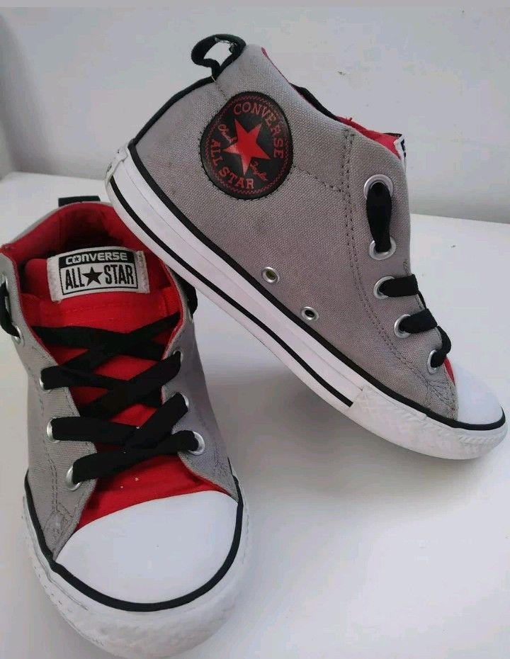 Converse Chuck Taylor Street Boys Preschool Size 3 tennis Shoes  fashion   clothing  shoes addc585ccb3b