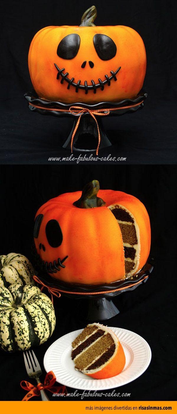 La tarta para Halloween más divertida.