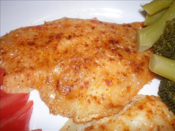 Easy Baked Fish....tasted good....paired it with asparagus.
