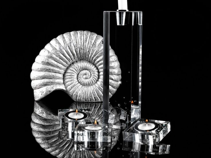 Suporturi lumânare Tropical Sea cu cristale Swarovski Implexions
