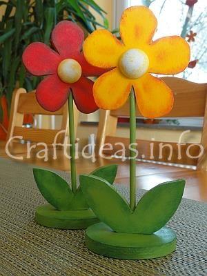 Wood Flowers ....