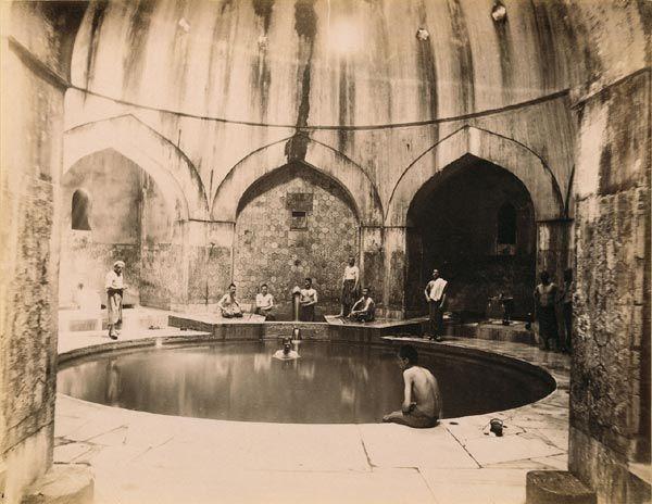 1870, Türk Hamamı.