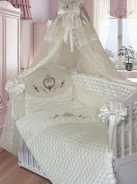 Комплект в кроватку Золотой Гусь Эстель