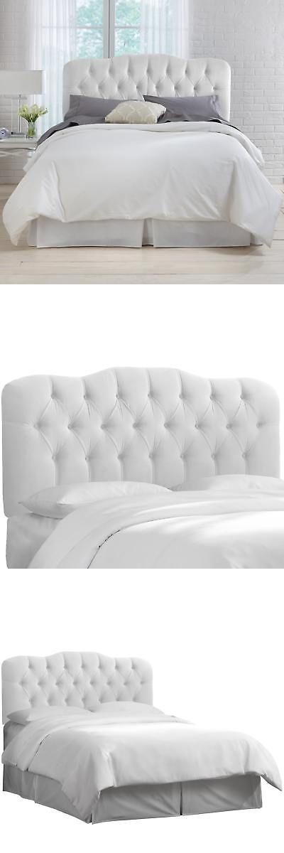 Headboards and Footboards 109064: White Velvet Tufted Headboard- Skyline Furniture -> BUY IT NOW ONLY: $259.99 on eBay!