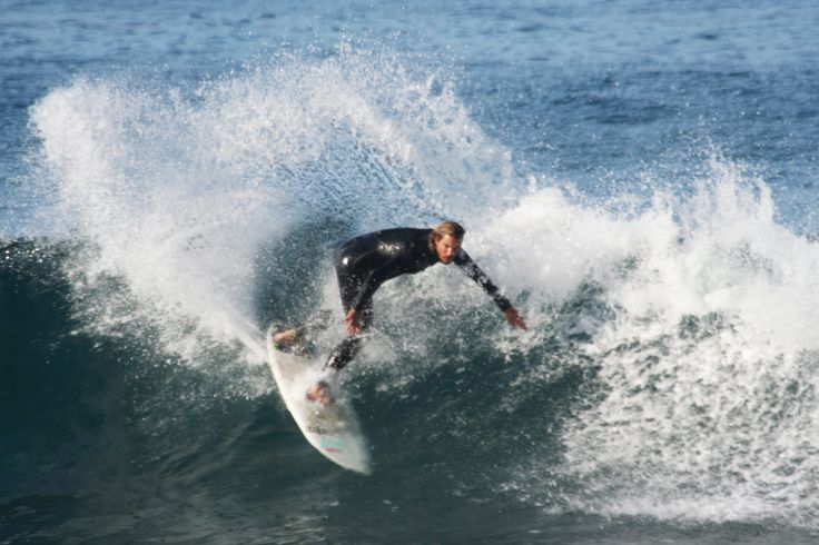 Surfing in Mossel Bay, South Africa with SA Surfari.