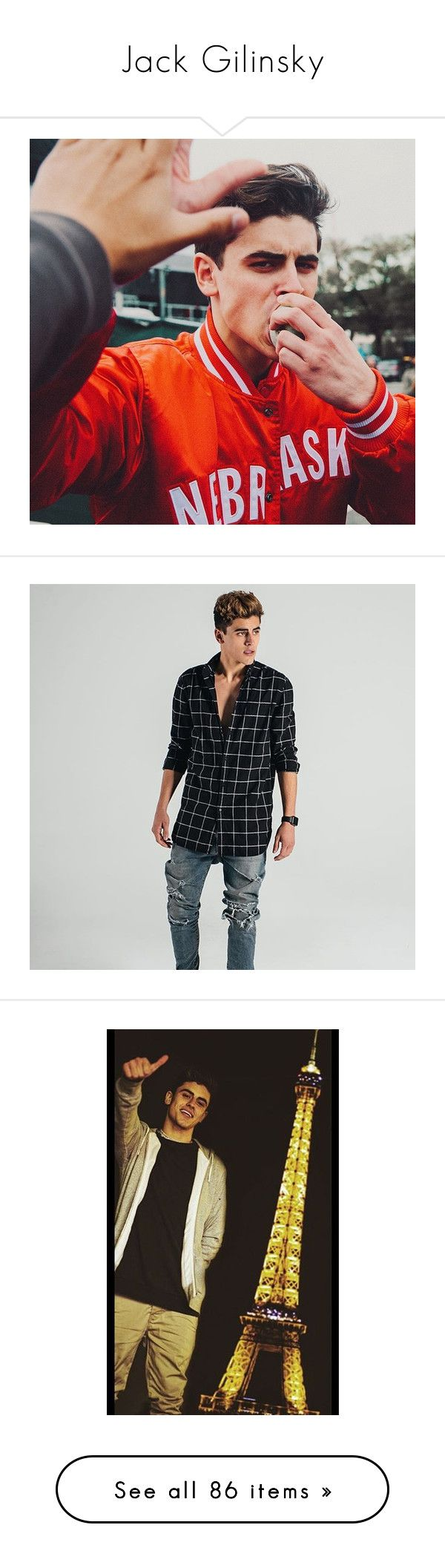 """""""Jack Gilinsky"""" by beingmyselfaf on Polyvore featuring magcon, magconboys, jackgilinsky, beauty products, haircare, hair color, jack gilinsky, jack, pictures and jack g"""