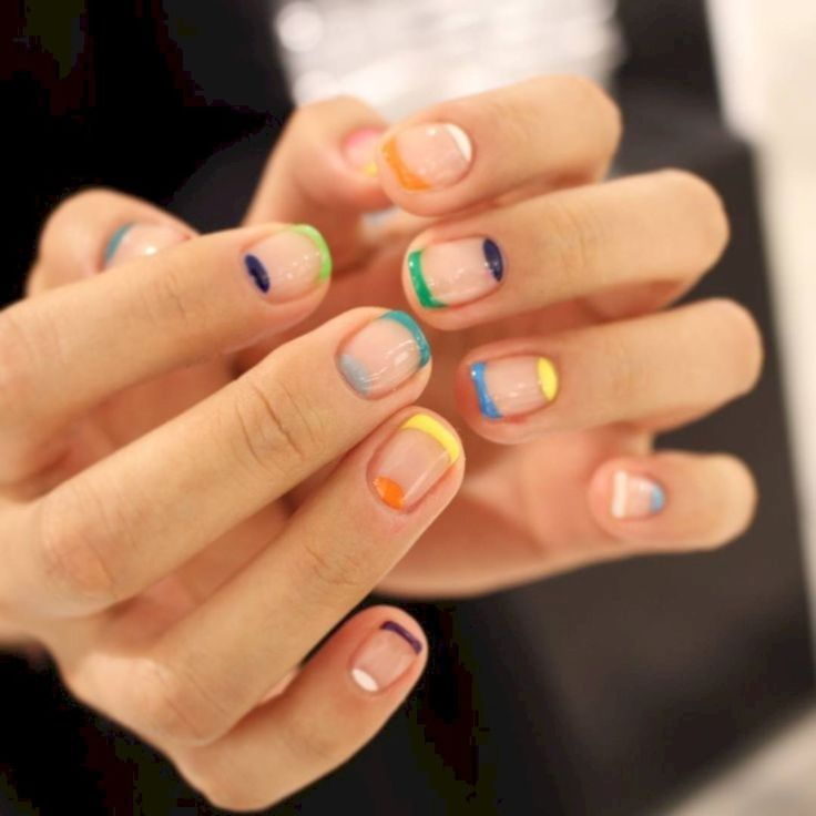 37 Ways to Upgrade on Your Rainbow Nail