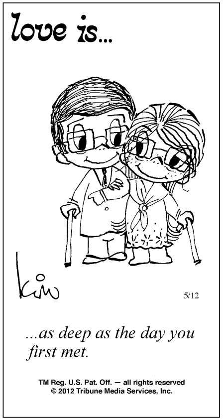 Love Is Cartoons by Kim | Love Is Comic Strip by Kim