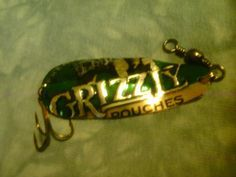 Grizzly Wintergreen Pouches Bass Spoon