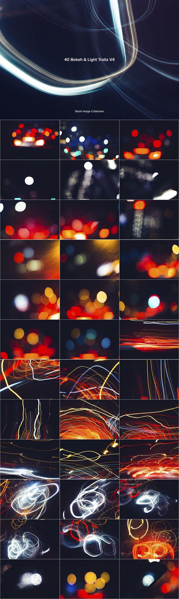 40 Bokeh & Light Trails V4 - Graphics - YouWorkForThem