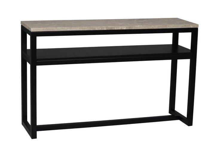 TORNACO Avlastningsbord Beige/Svart i gruppen Inomhus / Bord / Sidobord hos Furniturebox (220-10-161514)