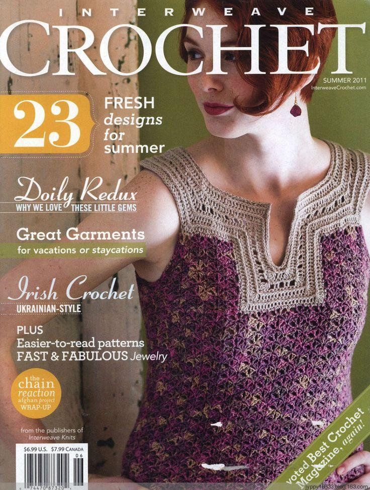 Crochet Magazine Subscription Australia : ... au crochet sur Pinterest Blouse Au Crochet, Hauts Au Crochet et