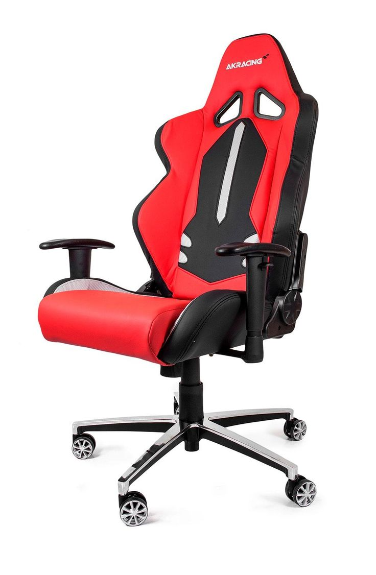 AKRACING Style Gaming Chair Black Red #WRGamers #AKRacing