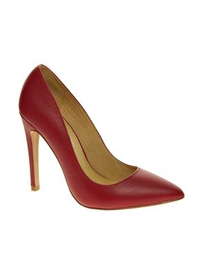 ALDO Frited Red Court Shoes