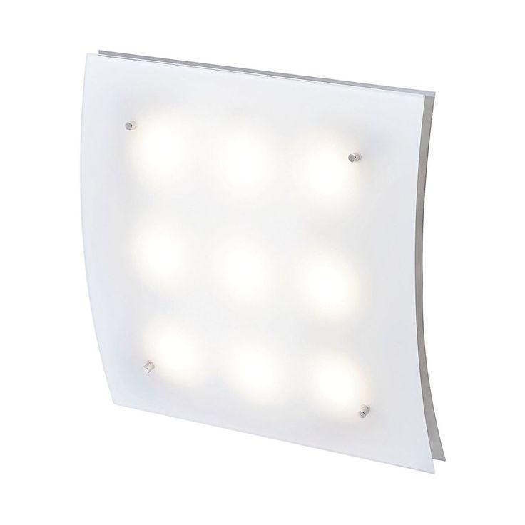EEK A+, LED-Deckenleuchte - Nickel, Fischer Leuchten Jetzt bestellen unter: https://moebel.ladendirekt.de/lampen/deckenleuchten/deckenlampen/?uid=5443e560-ead8-5f74-98e5-adf3ffa64280&utm_source=pinterest&utm_medium=pin&utm_campaign=boards #deckenleuchten #ledpendelleuchten #leuchten #lampen #fischer #deckenlampen #led #beleuchtung