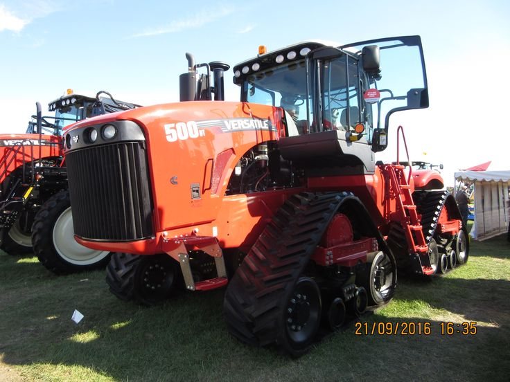Tractor Front Track : Best images about versatile tractors equipment on
