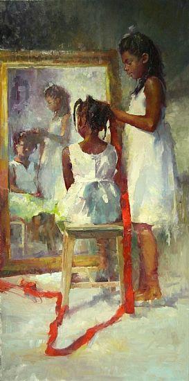 "Omg. Love, love, love. ""Red Ribbon"" by Michael Maczuga."