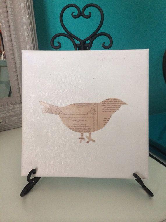 Bird on Canvas