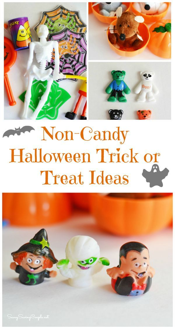 Spooktacular Non-Candy Halloween Trick or Treat Ideas because not giving out candy can be so much fun!