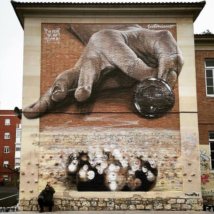 Wall in Spain by Victoriano.