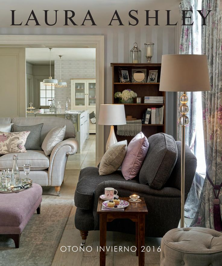 Laura Ashley Decoraci N Oto O Invierno 2016 Laura Ashley Living Rooms And English Country