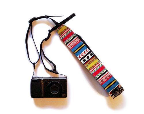 Print Pattern Camera Strap