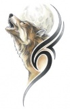 Howling Wolf Tattoo...