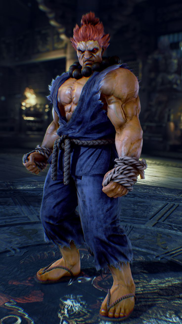 Why is he in the game? :/ I know the story: Kazumi ask him to kill Heihachi and Kazuya but... I don't know it's weird to me (The story mode is really cool :3 )