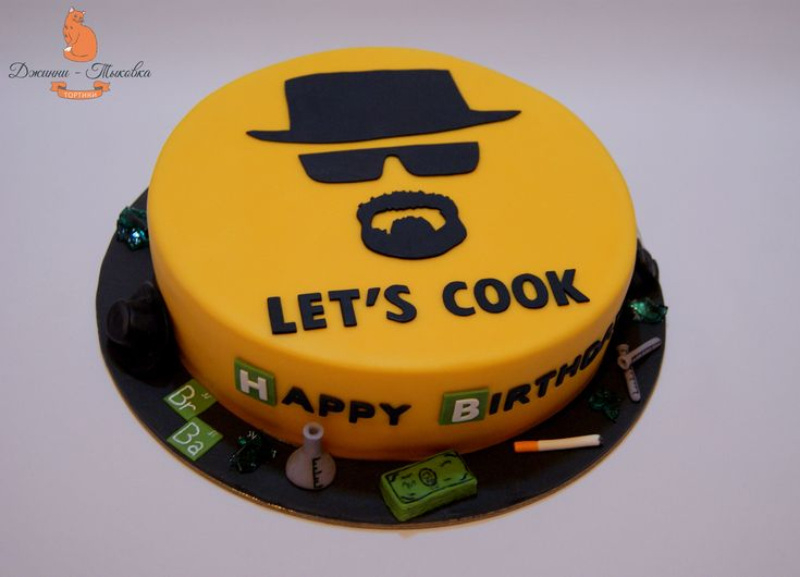 Breaking bad cake ideas, Heisenberg Breaking Bad Cake, meth candy, Breaking bad cake.