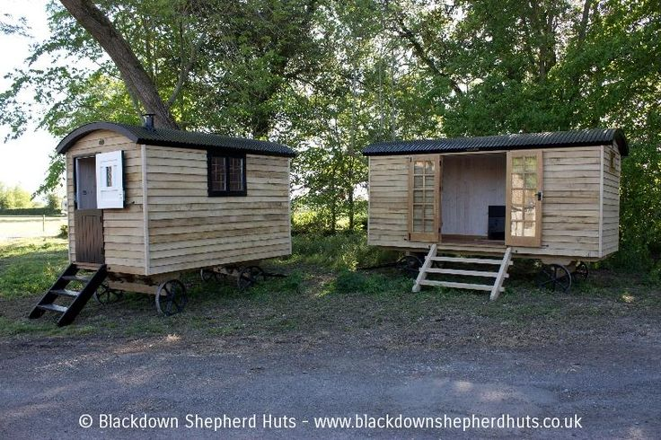 Photos of our high quality shepherds huts UK