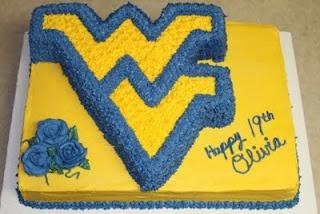 Michele Robinson Cakes: WVU Birthday CakeWvu Birthday, Birthday Cakes