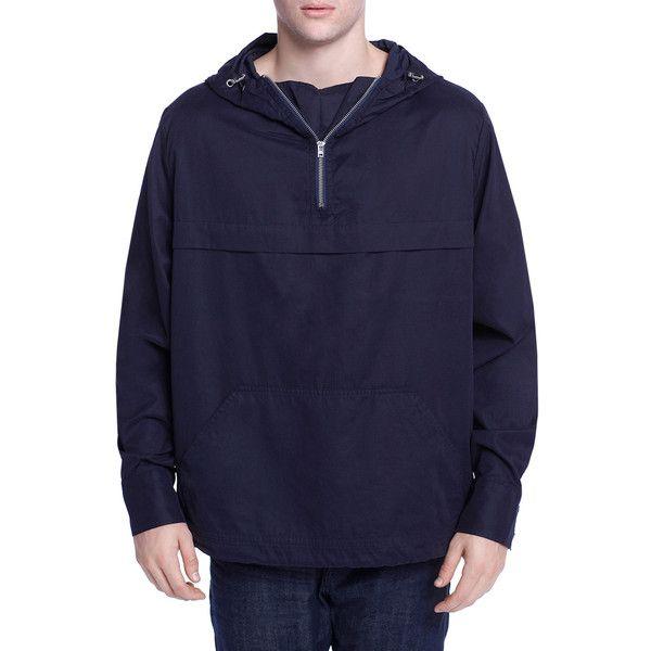 Earnest Sewn Men's Judo Cotton Jacket - Size l ($119) ❤ liked on Polyvore featuring men's fashion, men's clothing, men's outerwear, men's jackets, no color, mens jackets, mens hooded jackets, mens short sleeve jacket and mens cotton jacket