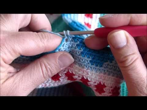 tutorial mochila crochet - YouTube