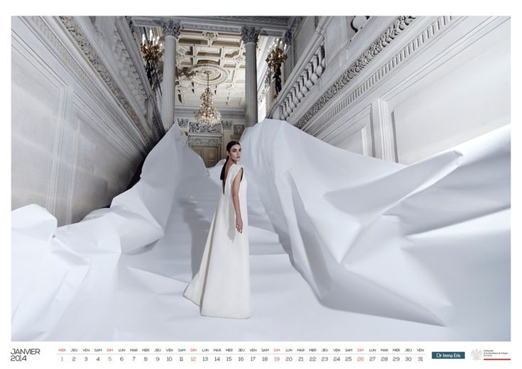 Patrycja Gardygajlo Stars in 2014 Polish Embassy in Paris Calendar