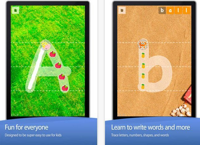Little writer tracing app: Supplement Your Kid's Education With These Top Ten Educational Apps!