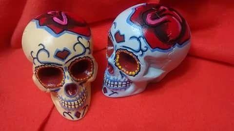 craneos mexicanos porcelana - Buscar con Google
