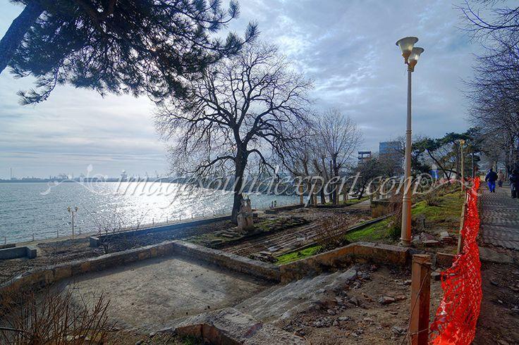 reabilitare faleza constanta, restoration promenade constanta romania, restaurierung uferpromenade, retablissement promenade