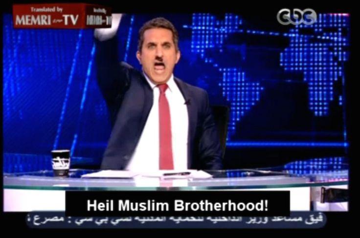 """Basem Yusef, por la libertad de expresión """"Es la audiencia, no los gobernantes, quien debe marcar los límites de la sátira política"""", dice la bestia negra de los islamistas egipcios.  http://elmed.io/basem-yusef-por-la-libertad-de-expresion/"""