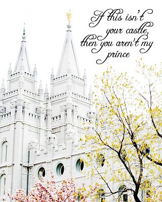 Free Printable - If this isn't your castle, then you aren't my prince