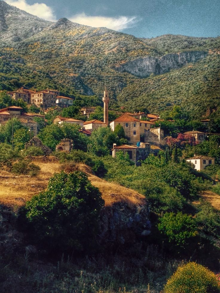 Eski Doğanbey köyü