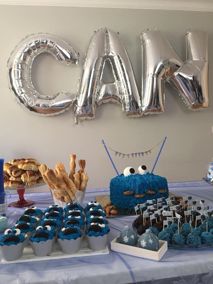 1stbirthday #cookiesmonsters