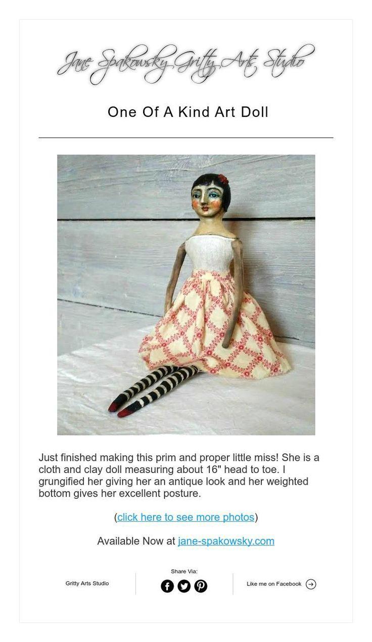 64 best Art Dolls & Assemblages Portfolio: Jane Spakowsky images on ...