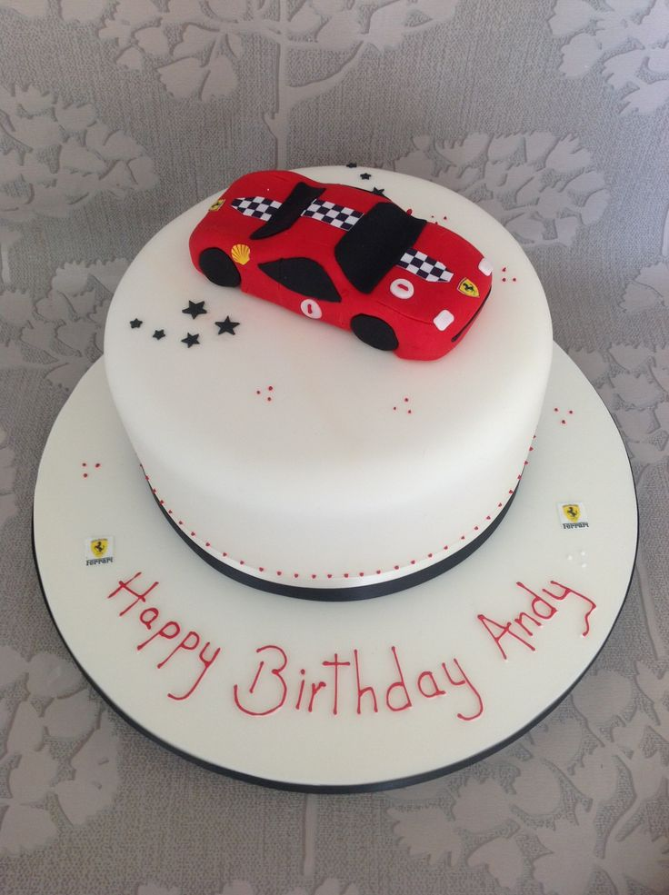 Ferrari Cake Birthday Party Ideas Ferrari Cake Cake