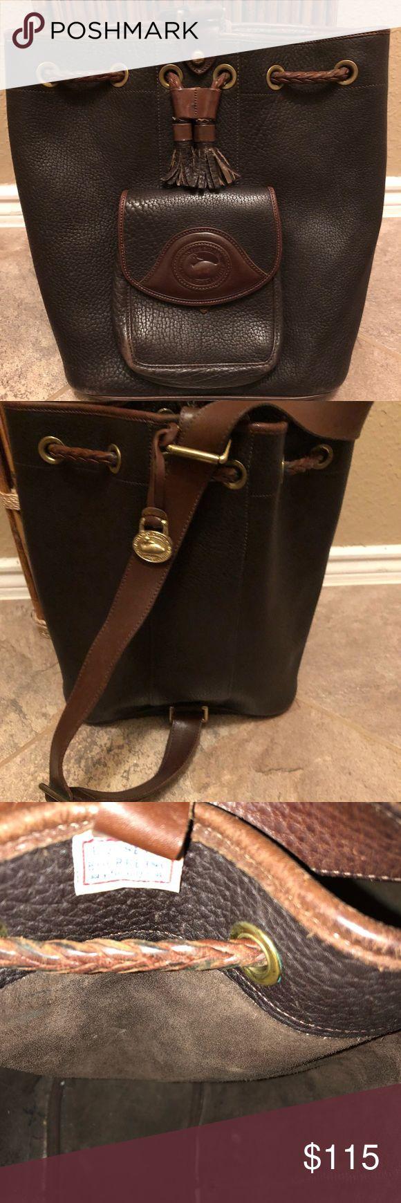 Loyalty - 🤩 Dooney & Bourke Single Strap Backpack Authentic Dooney & Bourke Single strap backpack. Some signs of wear (see pics) still in good shape. Dooney & Bourke Bags Backpacks