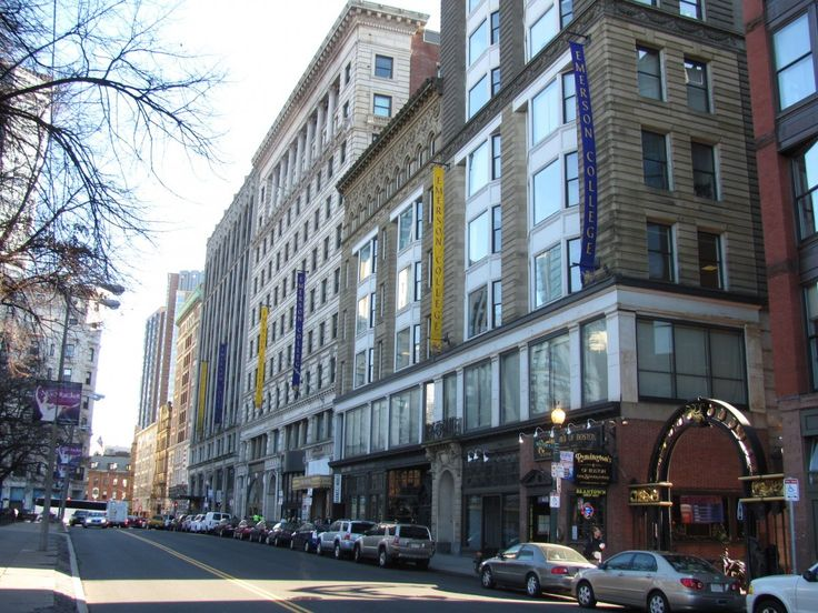 22. Emerson College — Boston, Massachusetts