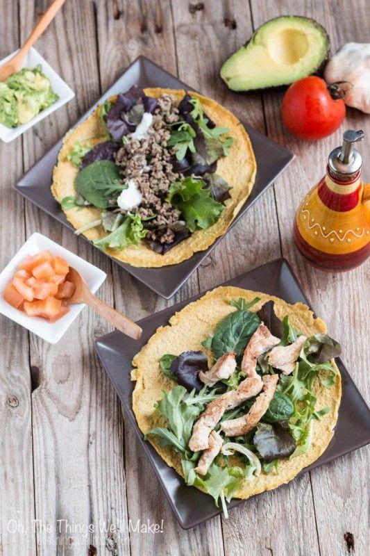 Estes, flexíveis e de baixo carboidrato, tortillas paleo rápidos são a minha vez de receita agora sempre que cozinhar os alimentos mexicanos ou eu quero tornar-me um sanduíche ou alface envoltório.